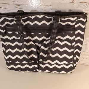 Thirty One reversible tote with thermal pocket